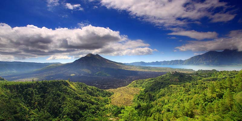 Kintamani Tour visiting Batur Volcano Mountain and Lake