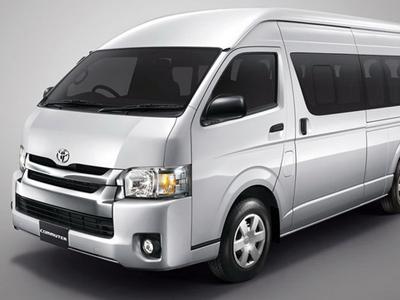 Luxury Minibus Toyota Hi Ace