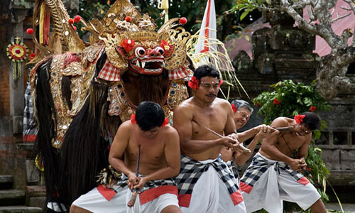 Barong Dance Bali Storyline