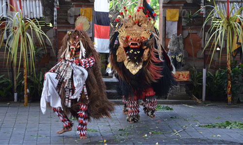 Image result for barong dance bali