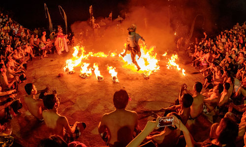 TRADITIONAL FIRE AND KECAK DANCE BALI